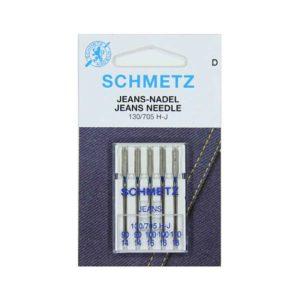 Aghi SCHMETZ per tessuti Jeans 130/705 H-J